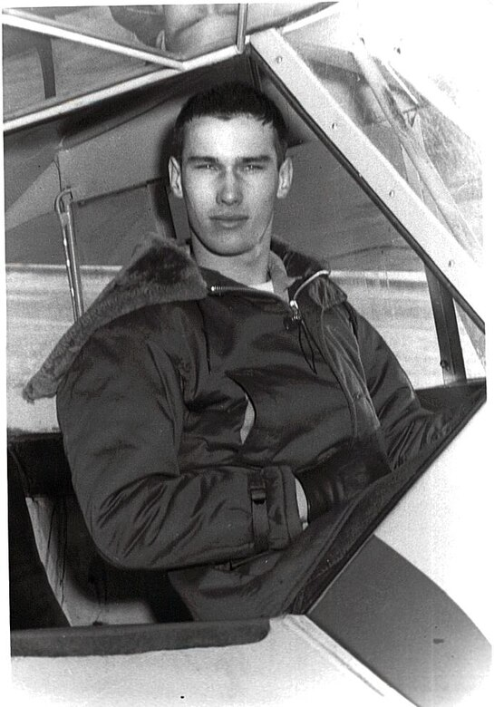 """William A. """"Bill"""" Beeks flew his first solo flight in 1957. He oversaw operations at Washburn Municipal Airport until his death in 2006. During that time, he occasionally flew for the U.S. Army Corps of Engineers, Omaha District. (Photos are property of the Beeks family and may not be reused without consent.)"""