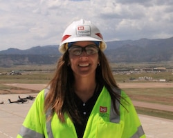 Eileen (Beeks) Williamson has been a Public Affairs Specialist with the U.S. Army Corps of Engineers, Omaha District since 2010. In 2013, as part of the District's Leadership Development Program, she visited several military construction projects at Fort Carson, Colorado.