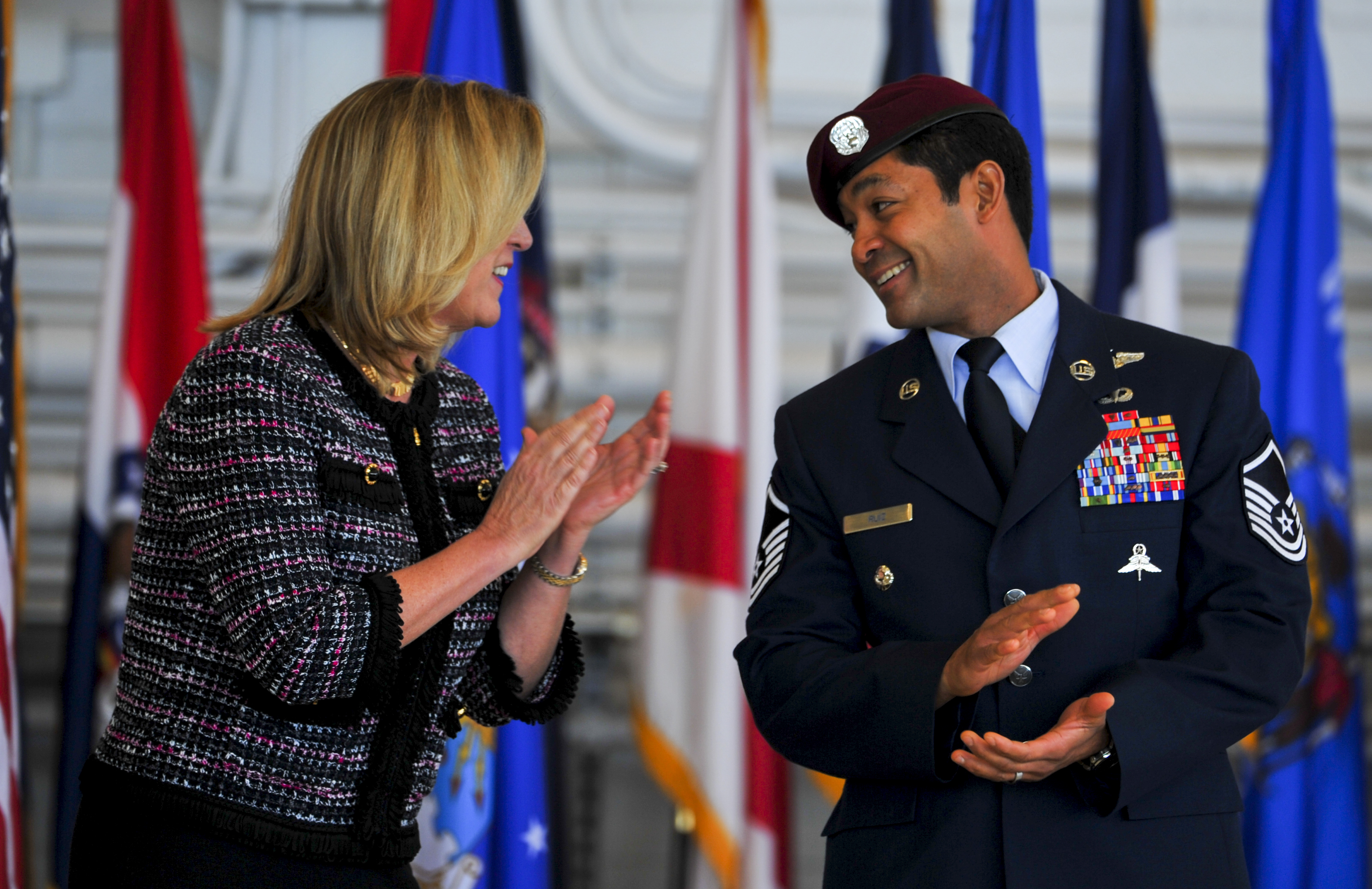 Air Force Cross Ceremony