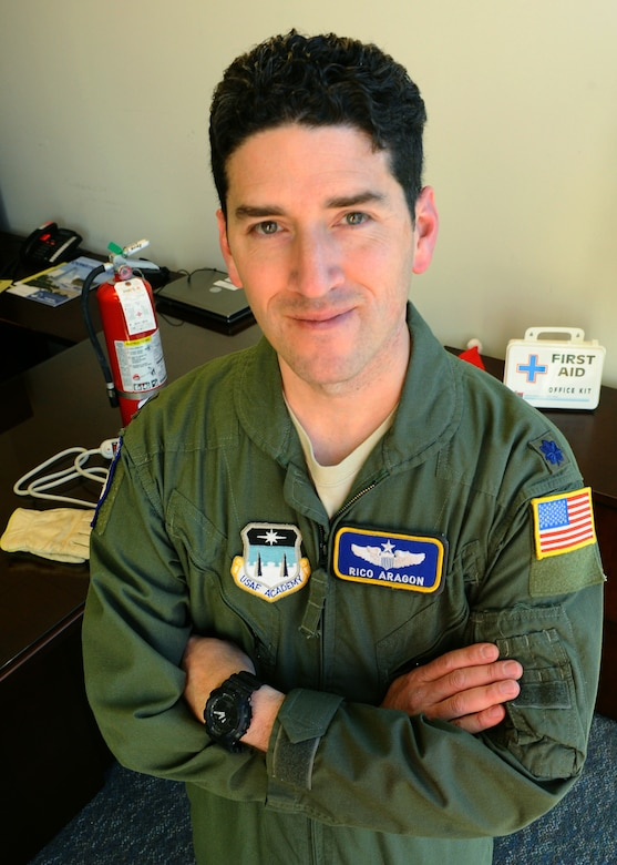 Lt. Col. Ricardo Aragon (U.S. Air Force photo/Master Sgt. Kenneth Bellard)