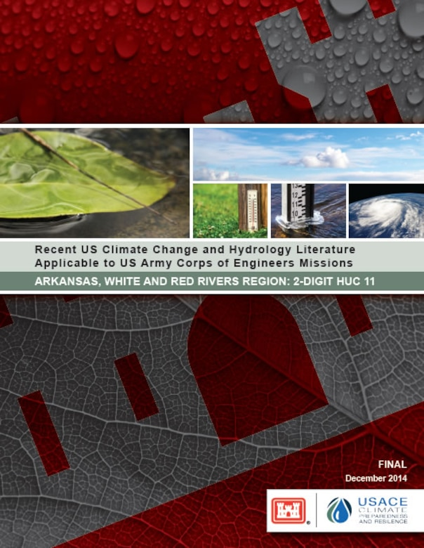 Recent US Climate Change and Hydrology Literature Applicable to US Army Corps of Engineers Missions Report Cover