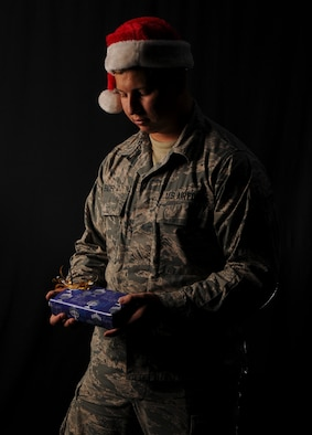 Every year thousands of Airmen spend their holiday season away from family members while stationed overseas. The winter season can inflict higher levels of stress and loneliness in an individual, making it an important time for Airmen to look out for one another. Kadena Air Base mental health and chapel services are available to provide service members and their families with mental and emotional support throughout the year. (U.S. Air Force photo illustration by Airman 1st Class John Linzmeier)