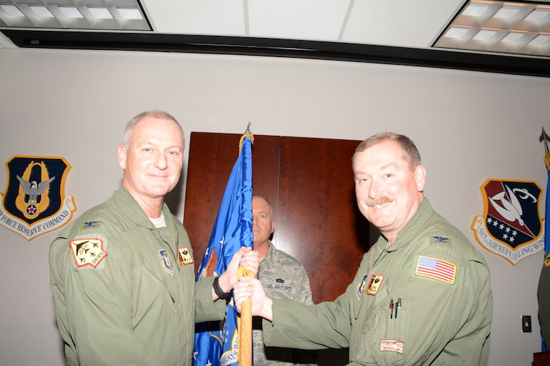 Col. Douglas E. Gullion assumed command of the 507th Operations Group at an Assumption of Command ceremony here Dec. 6. (U.S. Air Force Photo/Staff Sgt. Lauren Gleason)