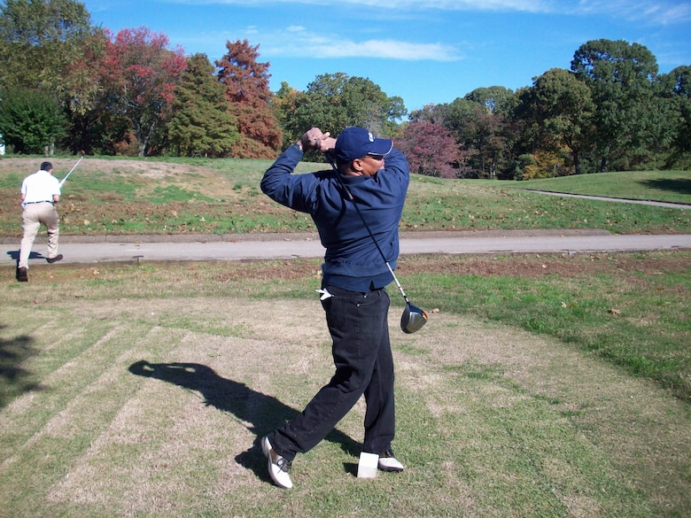 Mike Cornish, an avid golfer, plans to golf more during his retirement.