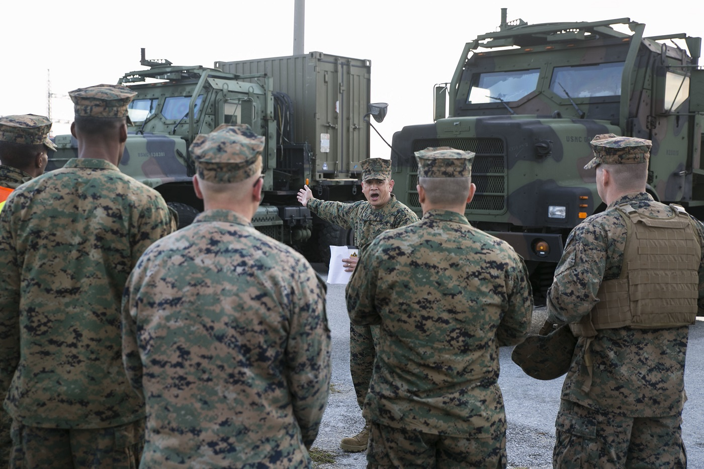 Rodeo rounds up motor t okinawa marines news article for Marine corps motor t