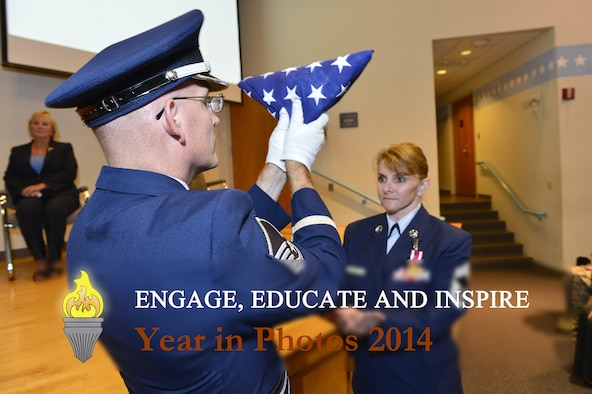 MCGHEE TYSON AIR NATIONAL GUARD BASE, Tenn. - The I.G. Brown Training and Education celebrates 2014 in photos. (U.S. Air National Guard photo illustration by Master Sgt. Mike R. Smith/Released)