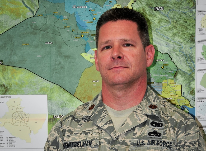 Maj. Matthew Heintzelman said the reason he joined the military was because 24 years ago, when the Berlin Wall fell bringing an end to the Cold War he felt obligated to pay his dues to protect the United States and secure the nation.  Heintzelman is the acting commander of the 919th Logistics Readiness Squadron at Duke Field, Fla. (U.S. Air Force photo/Tech. Sgt. Jasmin Taylor)