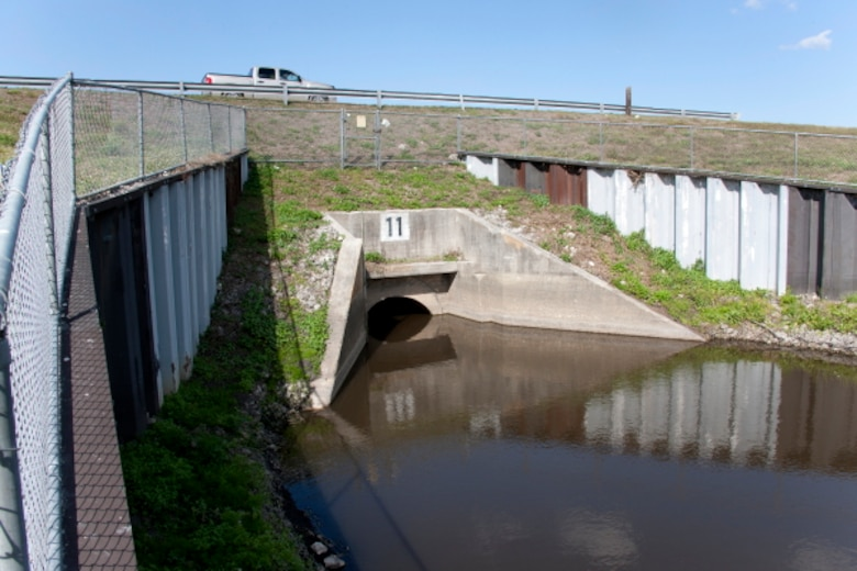 Culvert 11 before removal in March 2012