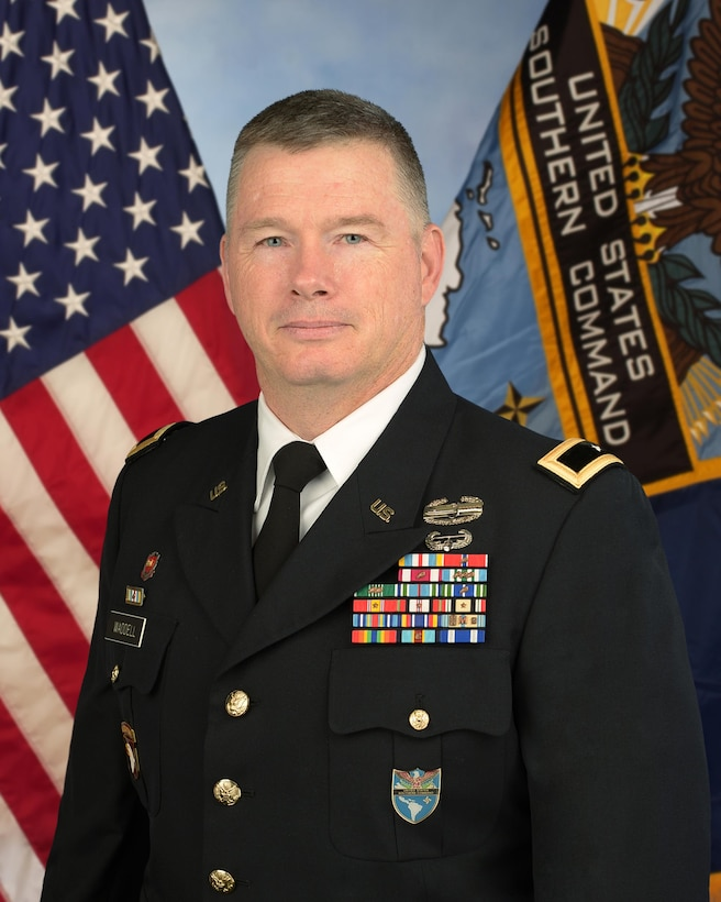 Major General Rick L. Waddell, Ph.D., US Army Reserve, Senior Director, CAPSTONE.