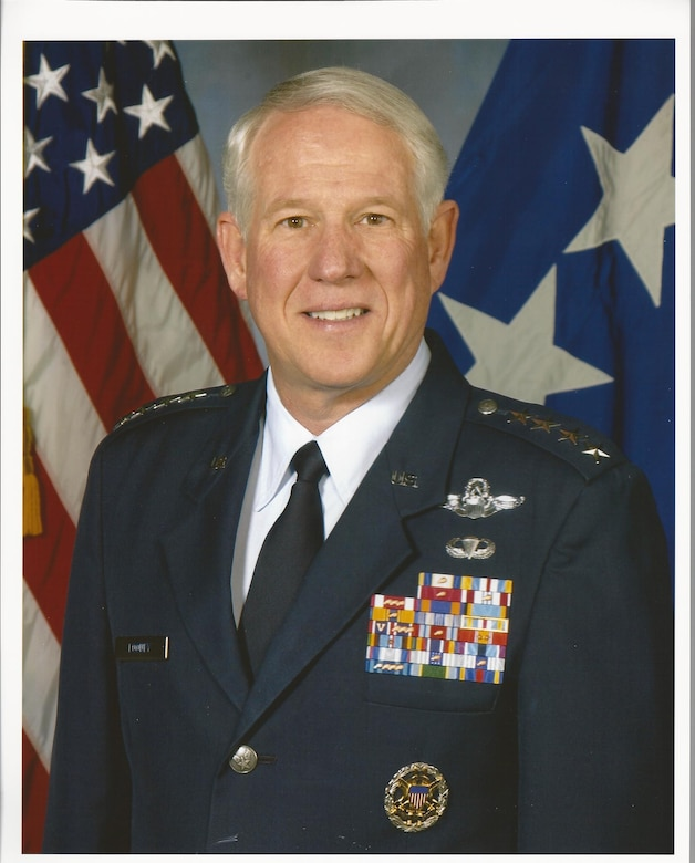 Gen. (Retired) William R. Looney III, Class of 1972, was recognized by the Academy and the Association of Graduates as one of the winners of the 2013 Distinguished Graduate award. During his 36-year career, he served on the Air Staff, the European Command Staff, and the Joint Staff and logged more than 4000 hours in a number of aircraft, with more than 2500 hours, including 62 combat hours, in the F-15 Eagle. (U.S. Air Force/Courtesy Photo)