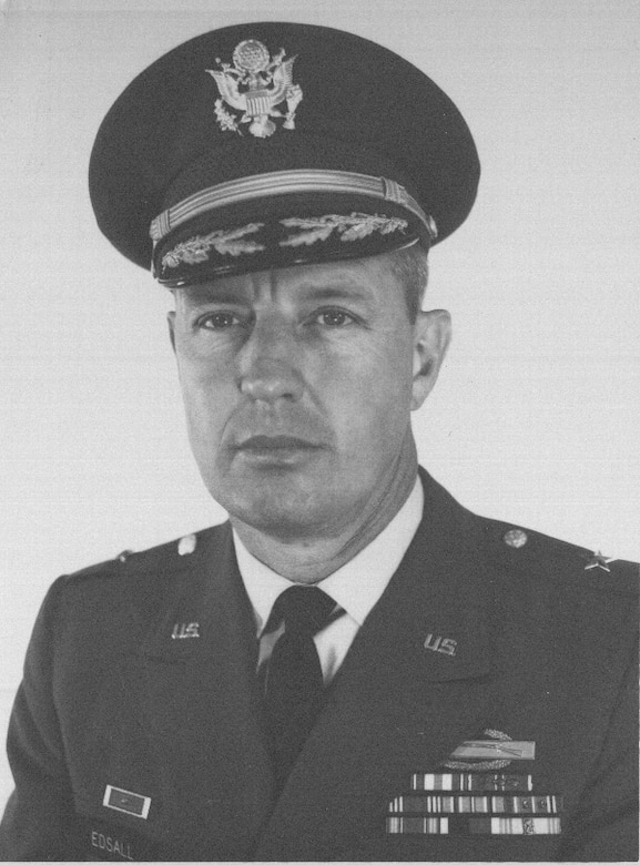 Floyd Edsall, seen here as a brigadier general circa 1965, eventually attained the rank of major general and served as the Nevada National Guard's adjutant general from 1967-1979. He died Jan. 29 in Sparks, Nev., at age 92.