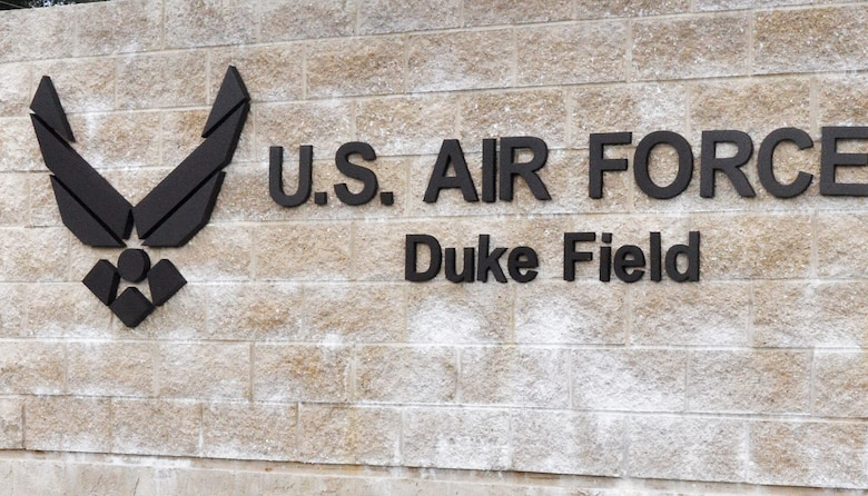 Duke Field is currently scheduled to close Feb. 14 from 7 a.m. to noon during an Eglin AFB weapons test period.  (U.S. Air Force photo/Dan Neely)