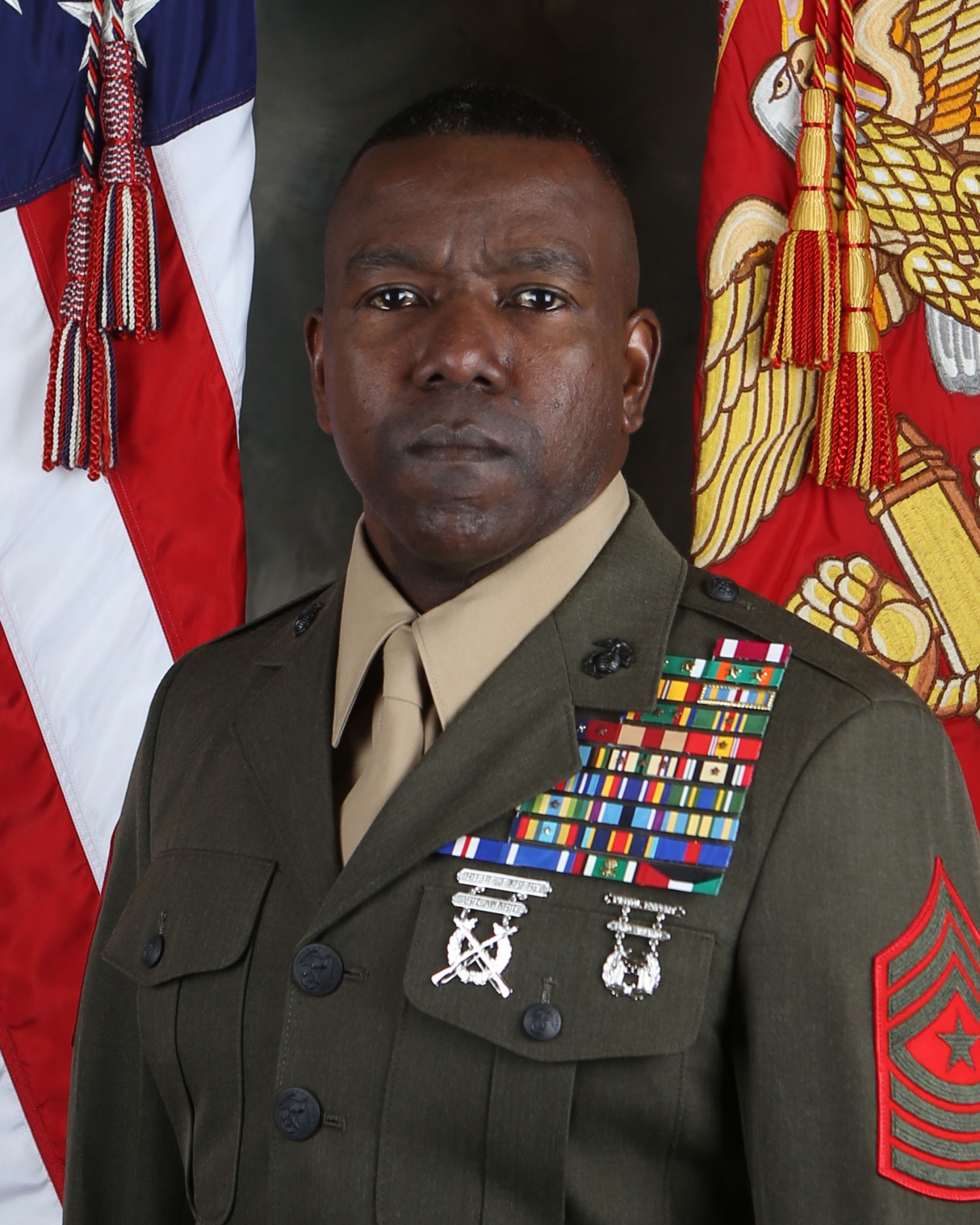 Sergeant Major Robinson > 1st Marine Division > Leaders