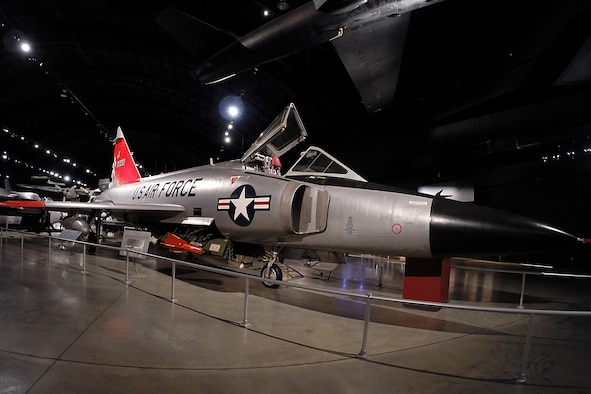 Convair F-102A Delta Dagger in the Cold War Gallery at the National Museum of the United States Air Force (U.S. Air Force photo)