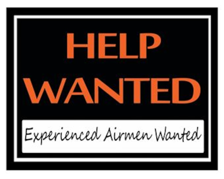 Experienced Airmen Wanted