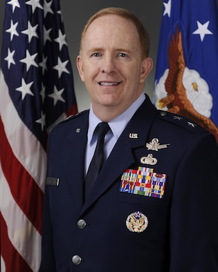 Official Air Force Image: MGen Robert McMurry Bio Photo