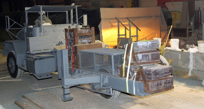 Using heavy load carts and other on-site equipment, the FERF at ERDC-CRREL allows researchers to simulate and test the impacts of frost conditions on geo-technical structures, such as highway and airfield pavements, foundations, and buried utility systems.