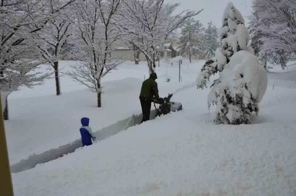 Heaviest snowfall in 62 years hits Misawa > Misawa Air Base