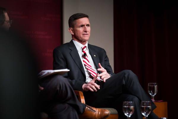 February 18th, 2014- Army Lt. Gen. Michael Flynn spoke about upcoming challenges for the United States as well as current events and the need for the integration of intelligence.