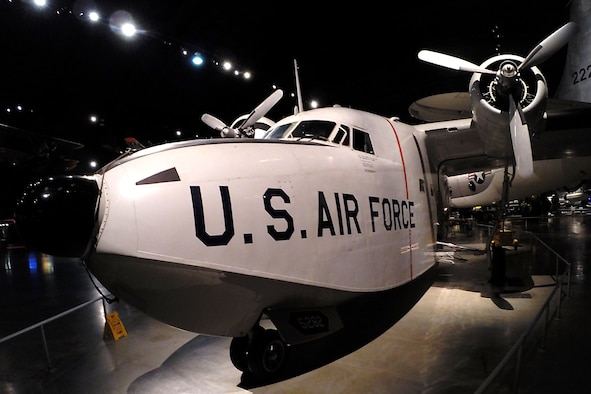 Grumman HU-16B Albatross at the National Museum of the United States Air Force. (U.S. Air Force photo)