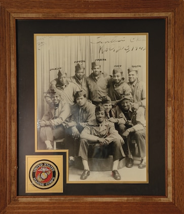 Marine Corps Logistics Base Albany's Library celebrates Black History Month with an African-American art display, which will be on exhibit through Feb. 28.