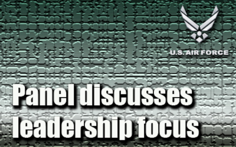 Panel discusses leadership focus