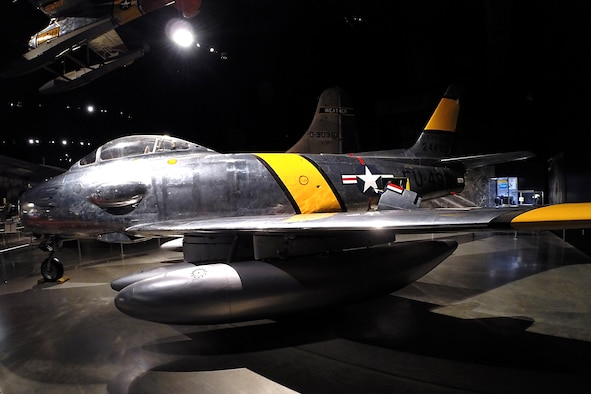 DAYTON, Ohio - North American RF-86F in the Cold War gallery at the National Museum of the United States Air Force. (U.S. Air Force photo)