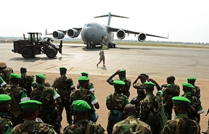 JCSE communication experts complete mission supporting Rwandan airlift operations