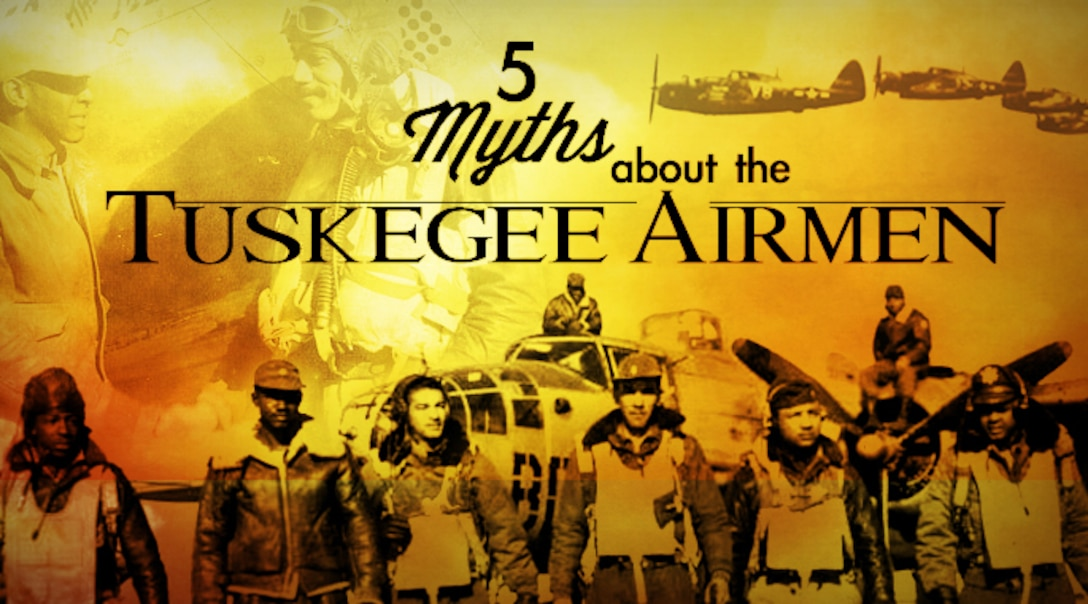 "Media reports and recent movies have portrayed the Tuskegee Airmen as ""larger than life"" in depicted their exploits during World War II. An Air Force historian puts their extremely important role into proper perspective. (Courtesy Corey Parrish)"