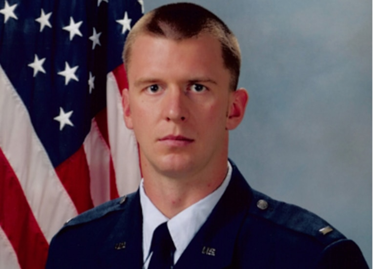 Capt. David I. Lyon, pictured here as a first lieutenant, was killed when a vehicle-born improvised explosive device was detonated near his convoy Dec. 27 near Kabul, Afghanistan.
