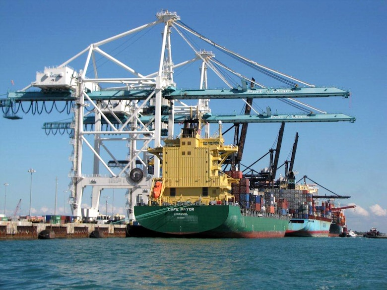 Contracting Division awarded a $221 million contract for the Miami Harbor Deepening Project, which deepens the channel to 50 feet. This prepares the Port of Miami to receive larger shipping vessels following the completion of the Panama Canal expansion in 2015.