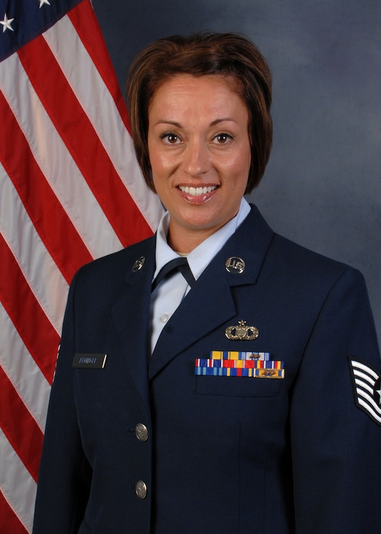 Tech. Sgt. Melissa Aldinger, 173rd Operations Support Flight, was selected as the 2013 Airman of the Year Category II for the 173rd Fighter Wing.  (U.S. Air National Guard photo by Tech. Sgt. Jefferson Thompson, released)