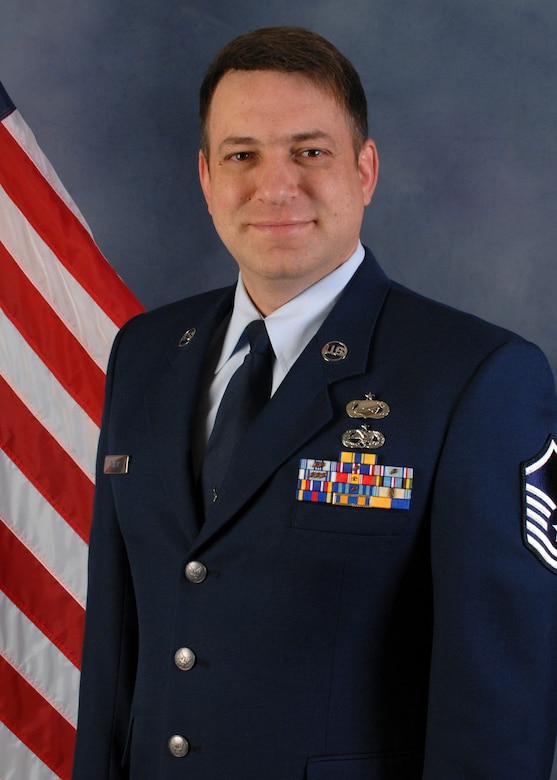 Master. Sgt. Michael Shirar, 173rd Maintenance Training Manager, was selected as the 2013 Airman of the Year Category III for the 173rd Fighter Wing.  (U.S. Air National Guard photo by Master Sgt. Jennifer Shirar, released)