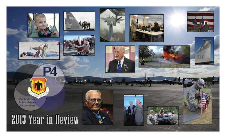 2013 Year in Review in photos.  (U.S. Air National Guard Photo Illustration by Tech. Sgt. Jefferson Thompson)