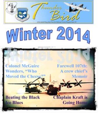 ThunderBird Winter 2014 (Air National Guard Graphic/Tech.Sgt. Brandy Fowler)