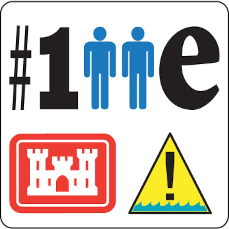 #One2Many is the Omaha District water safety campaign hashtag. It is designed to communicate that one accident, one death and one unworn life jacket is too many. This graphic will launch a year-long water safety game offered on social media initiating with the Omaha District. Each week, we will offer a rebus puzzle that communicates a USACE water or recreational safety message. The campaign will share a new picture each Monday with the #one2many and #WaterSafety hashtags. Followers can guess the message, which will be shared every Thursday. Occasionally - during holidays such as Memorial Day, Independence Day and Labor Day additional rebus puzzles will be shared.