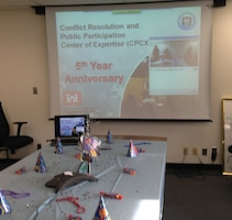 USACE Conflict Resolution & Public Participation Center of Expertise Celebrates the Fifth Year of Accomplishments