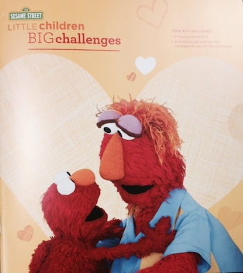 "The Defense Department and Sesame Street have unveiled a book and DVD to develop resilience in young children. ""Little Children, BIG Challenges"" lets military children know that challenges are a part of life. Whether a child struggles with sitting quietly at the dinner table, or faces a bully at school, the beloved Sesame Street characters can help."