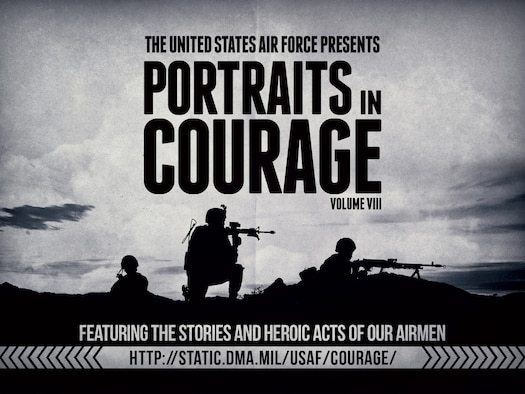 A new edition of Airmen's stories in Portraits in Courage Volume 8.