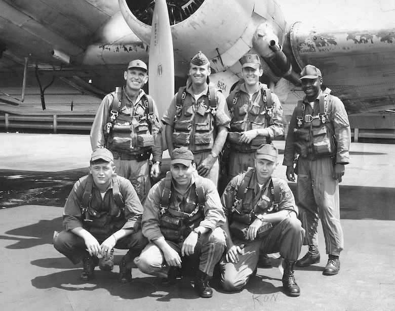 An EC-47 crew included a pilot, co-pilot, flight engineer and mission specialists. (U.S. Air Force photo)