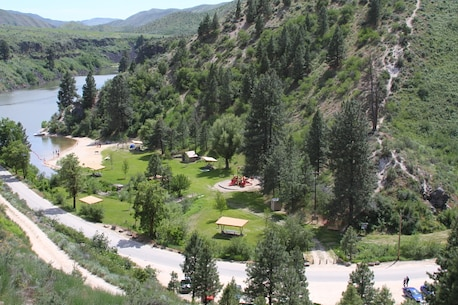 Robie Creek Park is a lesser known gem of Lucky Peak Lake.