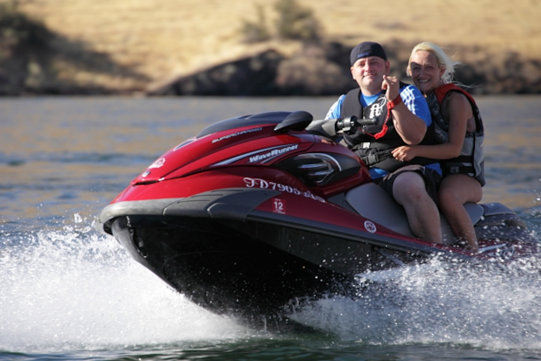Lucky Peak Lake is the Treasure Valley's most popular boating destination.