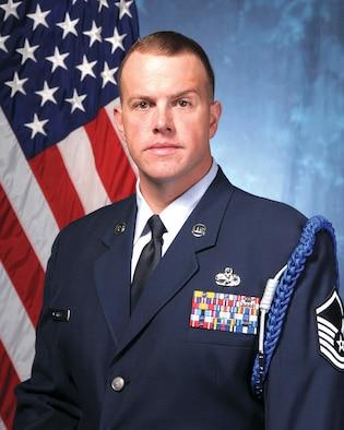 U.S. Air Force Academy Military Trainer Master Sgt. Shawn Merritt.