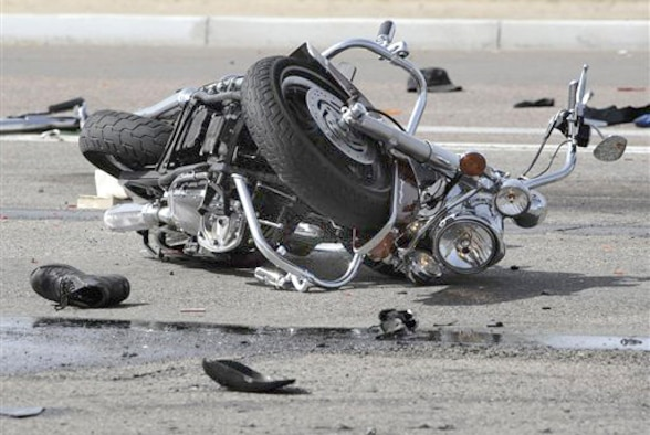 When riding a motorcycle under the influence, poor judgment and distorted vision get in the way of your brain trying to solve complicated physics calculations while considering acceleration, speed, lean angle, side slip, road surfaces, obstacles, time and distance to decision points and evasive maneuvers should your calculations prove wrong. (Courtesy photo)
