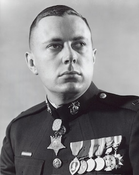Medal of Honor recipient John James McGinty III.