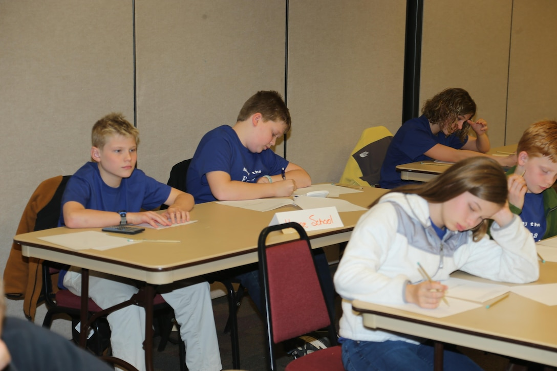 The U.S. Army Corps of Engineers Vicksburg District and the Vicksburg Chapter of the Society of American Military Engineers sponsored a math competition for local students. The competition was held 22 January 2014 at District Headquarters.