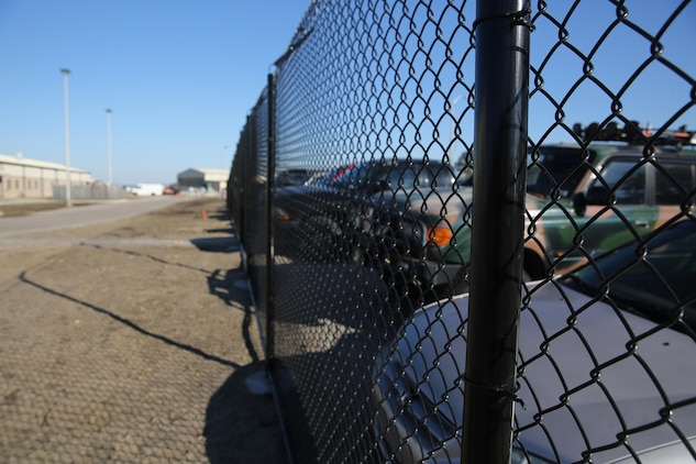 A new fence to increase flight line secuirty has been in construction by Public Works since last summer. On top of increased security, the fence will affect how Marines get to both work and certain locations on base.