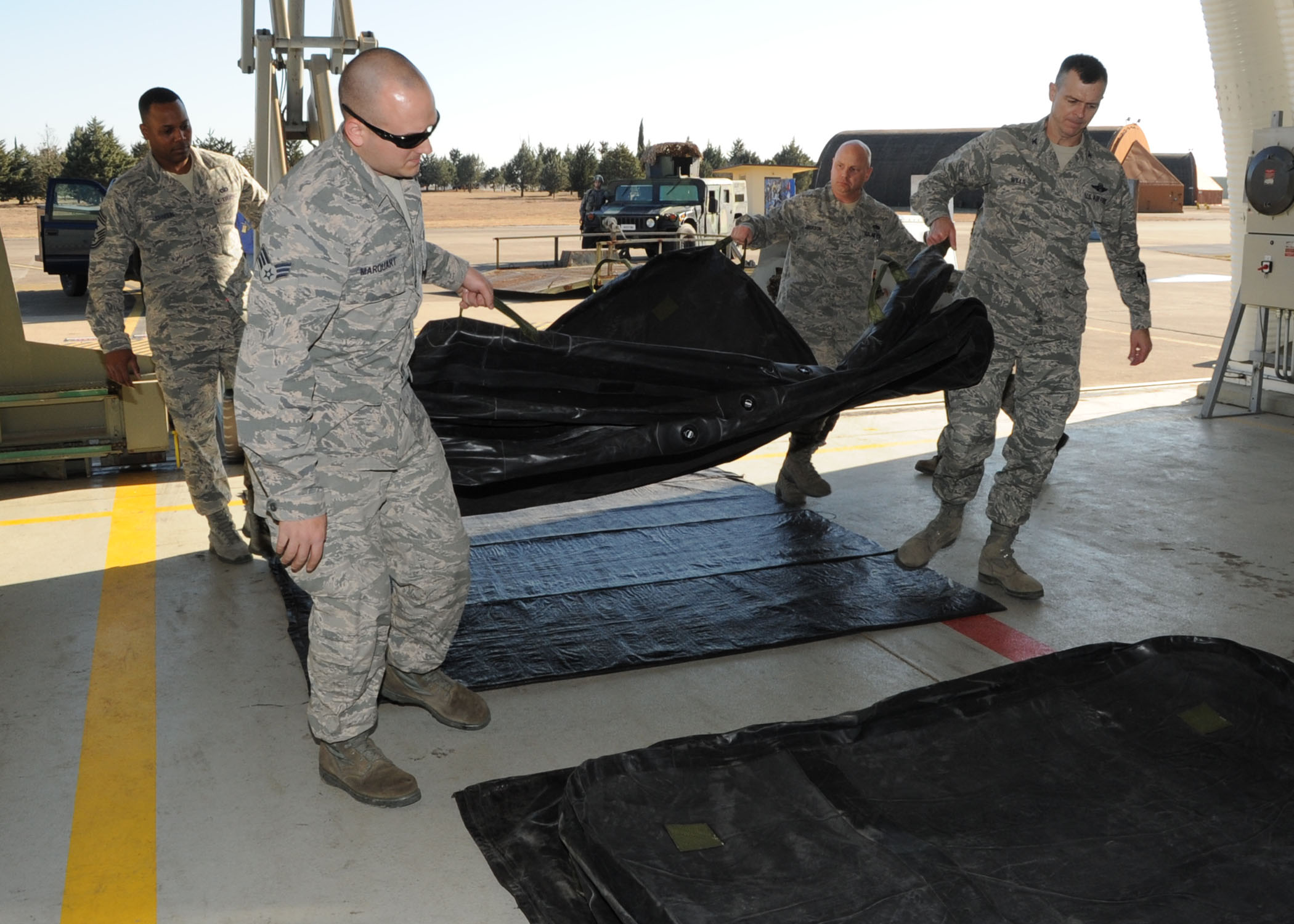 39th Mxs Crash Disabled Damaged Aircraft Recovery Team