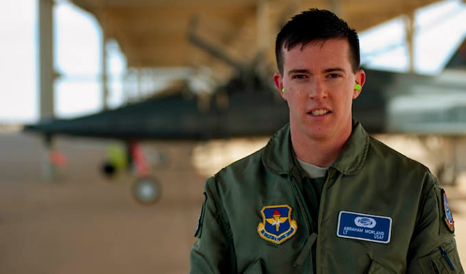 Second Lt. Abraham Morland held dual citizenship in both the United States and the United Kingdom. Having opportunities to fly for both countries, he eventually chose to renounce his British citizenship and fly for the U.S. Air Force. As Morland prepares to enter the Euro-Nato Joint Jet Pilot Training Program at Sheppard Air Force Base, Texas, he will be in a program that hosts and conducts joint training exercises with over 11 countries. Morland is a 80th Flying Training Wing student. (U.S. Air Force photos/Airman 1st Class Jelani Gibson)