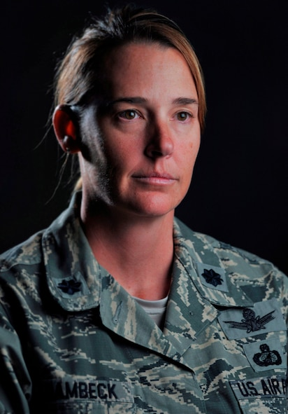 Lt. Col. Melissa Krambeck, 45th Space Wing director of wing inspection
